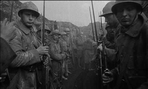 Kubrick, les sentiers de la gloire, tranchées
