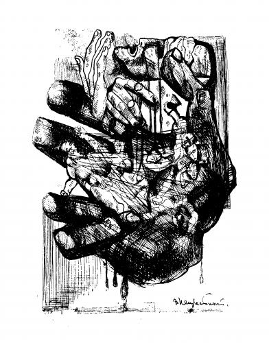 ernst neizvestny,crime et châtiment,dostoïevski