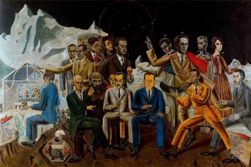 Julien Gracq, Dostoïevski, Les Possédés, Tolstoï