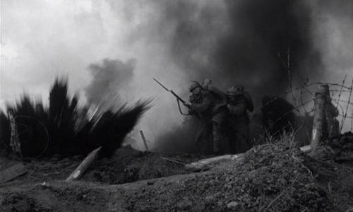 Kubrick, les sentiers de la gloire, bataille