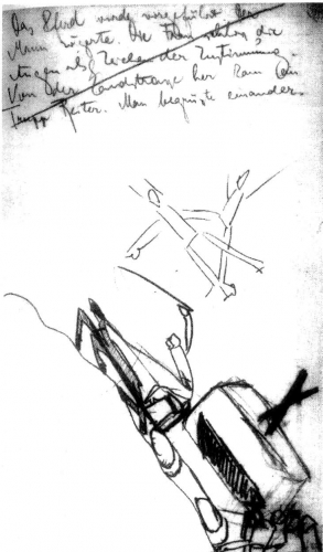 franz kafka,dessins