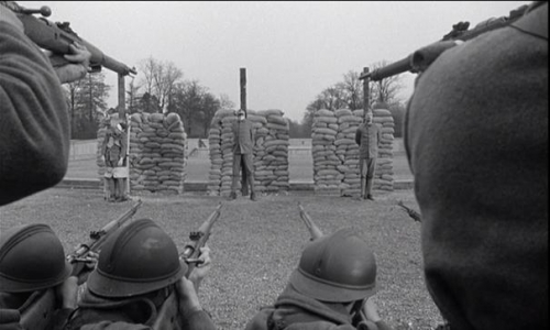 Kubrick, les sentiers de la gloire, exécution