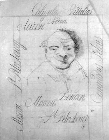 dostoïevski, dessin